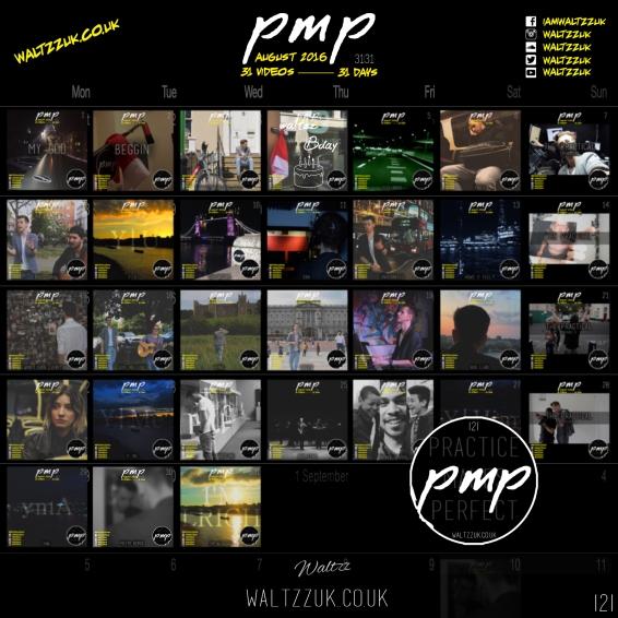 PMP 31 Calendar