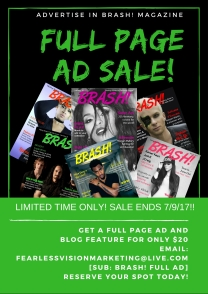brash magazine, advertise your business, global advertising, small business promotions, digital marketing, indie music news, fashion industry news, entertainment magazine