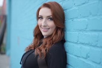 Brittney Grabill -- Press Shot- Blue Wall