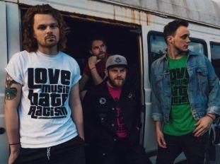 the baskervilles, love music hate racism, lmhr, indie rock, brash magazine blog