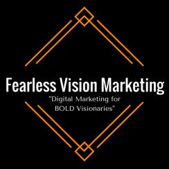 fearless vision marketing, new logo, digital marketing agency, digital marketing