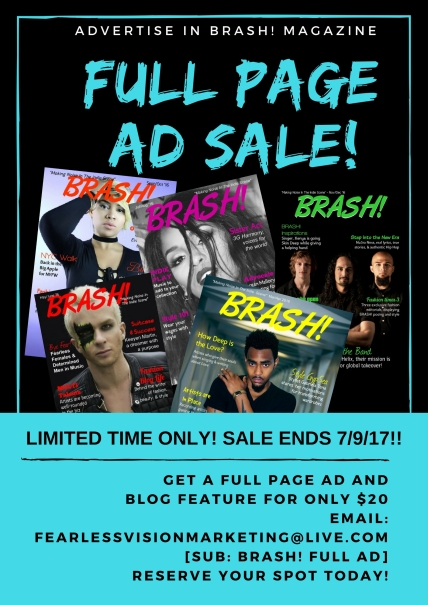 low cost advertising, magazine ad, business promotion, digital magazine, entertainment magazine, indie music news, fashion news, fashion editorials