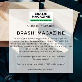 internship, intern, interns, entertainment magazine, fashion writers, future leaders, future moguls, music magazine, digital media, digital publications