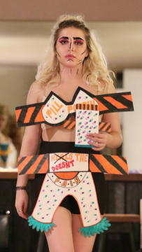 jason c peters, pill poppin, fashion show, new york fashion show, paper doll collection by jason christopher peters, NY Fashion, fashion show tour, jason Christopher peters