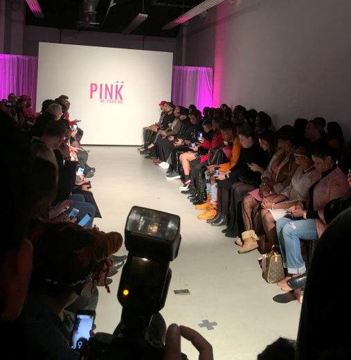 stevie boi, pink by stevie boi, nyfw, sbshades, new york fashion week, fm 18 collection, pink by stevie boi, pink, fashion show, exclusive events, nyc events, fashion events, love and hip hop miami, love and hip hop, whoopi goldberg