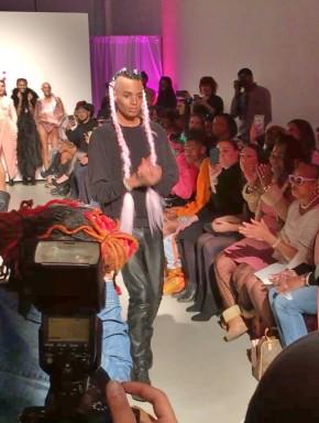 Stevie Boi, fashion designer, high fashion designer, PINK by Stevie Boi, Stevie Boi Shades, NYFW, fashion show, nyc events, nyc fashion show, haute couture, designs, pink models, new york fashion week, f/w 18