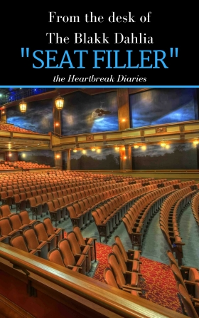seat filler by the blakk dahlia, writer's note, women authors, the blakk dahlia