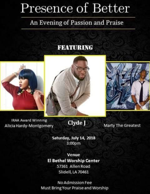 PRESENCE OF BETTER: An Evening of Passion and Praise
