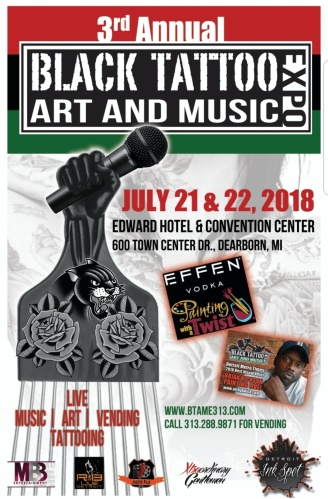 EVENT NEWS | 3rd Annual BLACK TATTOO ART & MUSIC EXPO (BTAME)