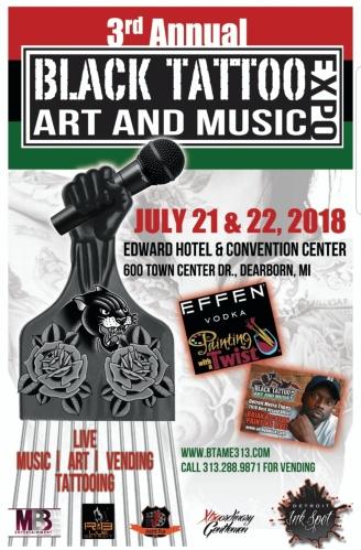 EVENT NEWS | 3rd Annual BLACK TATTOO ART & MUSIC EXPO (BTAME)