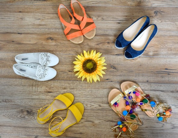 Summertime Footwear FashionForRoyals