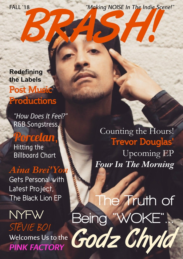 BRASH! Fall '18 Cover ft. Godz Chyld