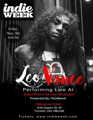 Leo Vance Indie Week Canada - BRASH! Magazine Blog