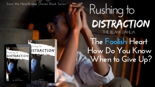 Rushing to Distraction Book by The Blakk Dahlia