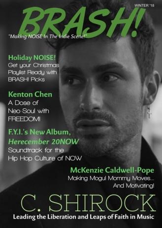 BRASH! Magazine Winter 18 Issue C. SHIROCK