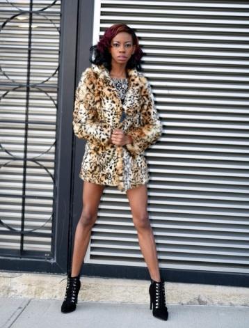 Model, Alexcina Brown