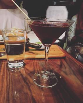 manhattan martini from STK