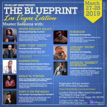 THE BLUEPRINT - Las Vegas Edition 2019