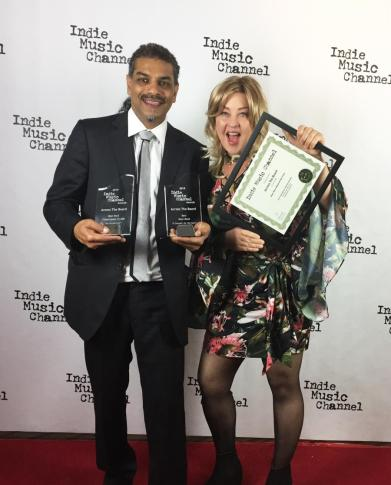 Canadian Rock Band, Across the Board at Indie Music Channel Awards