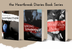 the Heartbreak Diaries Book Series by The Blakk Dahlia