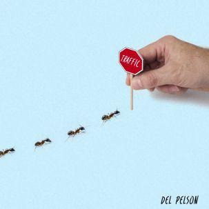 Traffic by Del Pelson