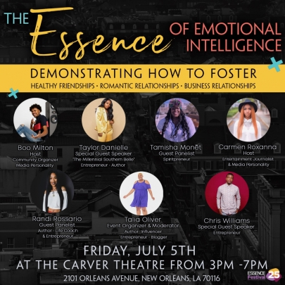 The Essence of Emotional Intelligence Event Flyer