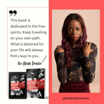 Author, The Blakk Dahlia