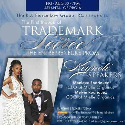Event flyer for Trademark Soiree