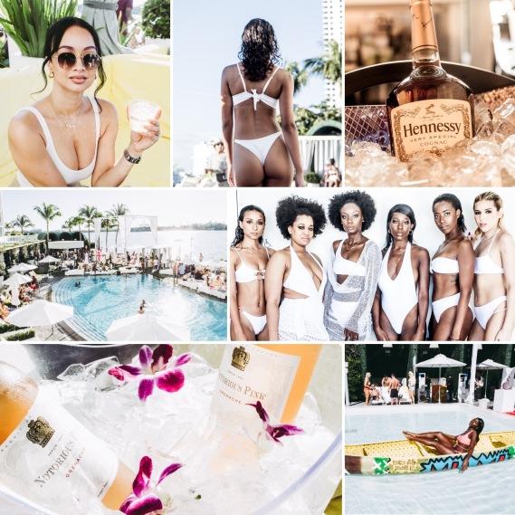 Celebrity Draya Michele + Mint Swim + STYLE X take over Mondrian South Beach during Art Basel
