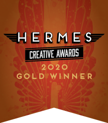 Hermes Creative Awards 2020 Gold Winner