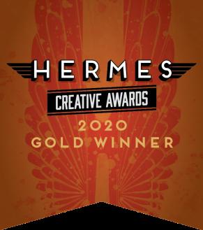 Hermes Creative Awards 2020 Gold Winner